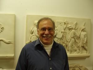 Sculptor Robert Shure