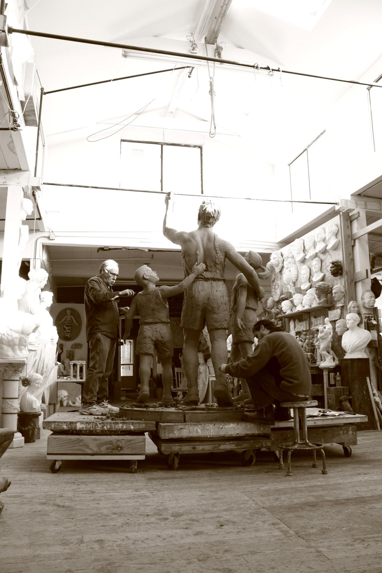 robert shure sculptor president skylight studios inc